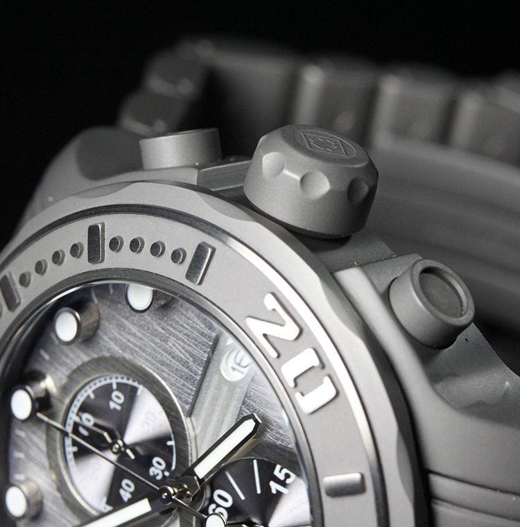Invicta Mens Pro Diver Ocean Ghost Gray Dial Chronograph Watch 0881