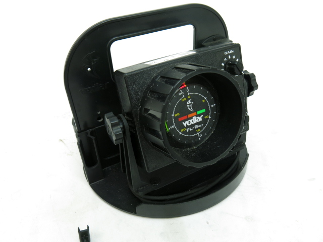 Vexilar fl 8 slt fish depth finder ice fishing flasher ebay for Ice fish finder