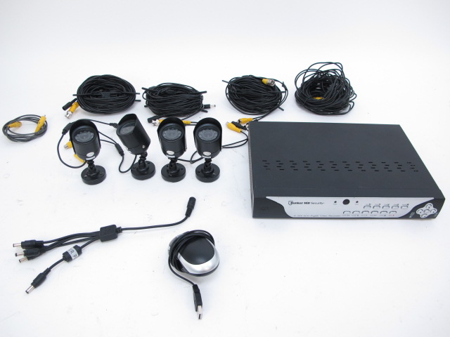 Bunker Hill Security 4 Camera Security System Ebay