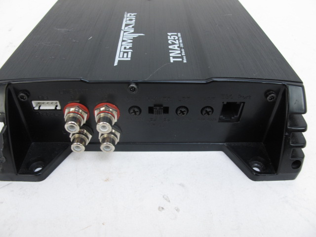 Mtx terminator tna251 amp manual