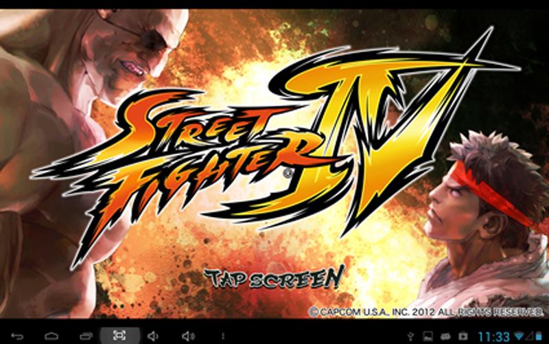 Взломанная игра Street Fighter IV HD v.1.00.00.