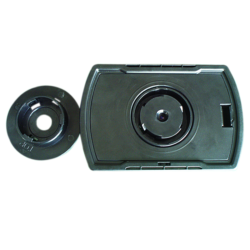 2 4 lcd digital door peephole viewer high resolution for Door viewer camera