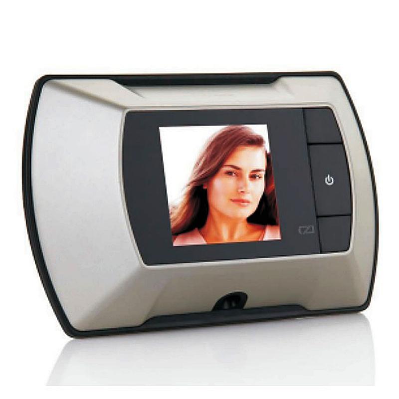 2 4 lcd digital door peephole viewer high resolution for Door viewer camera