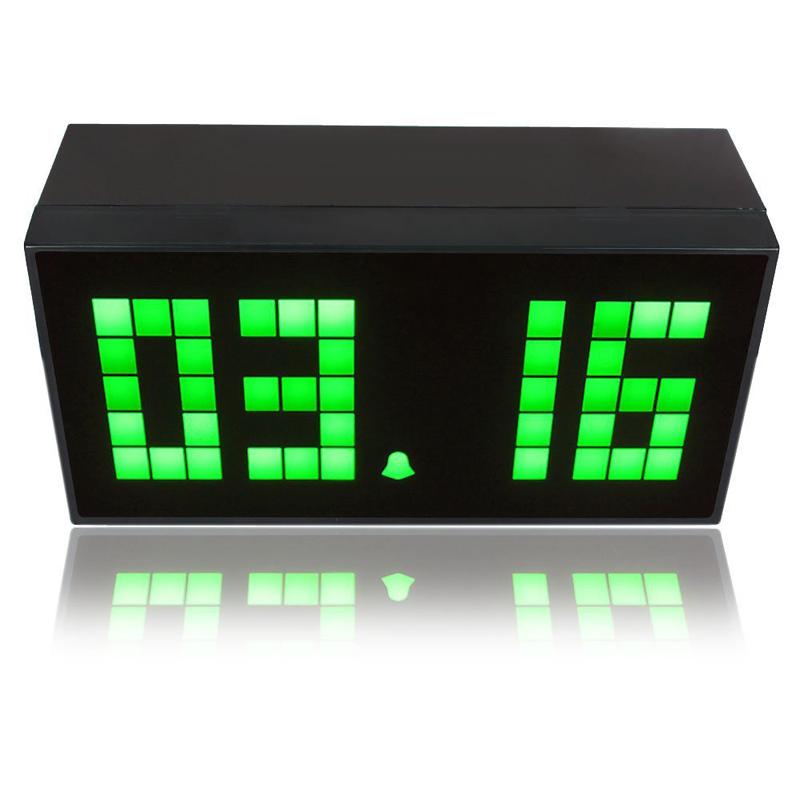 Digital Small Number Led Display Clock Temperature Date