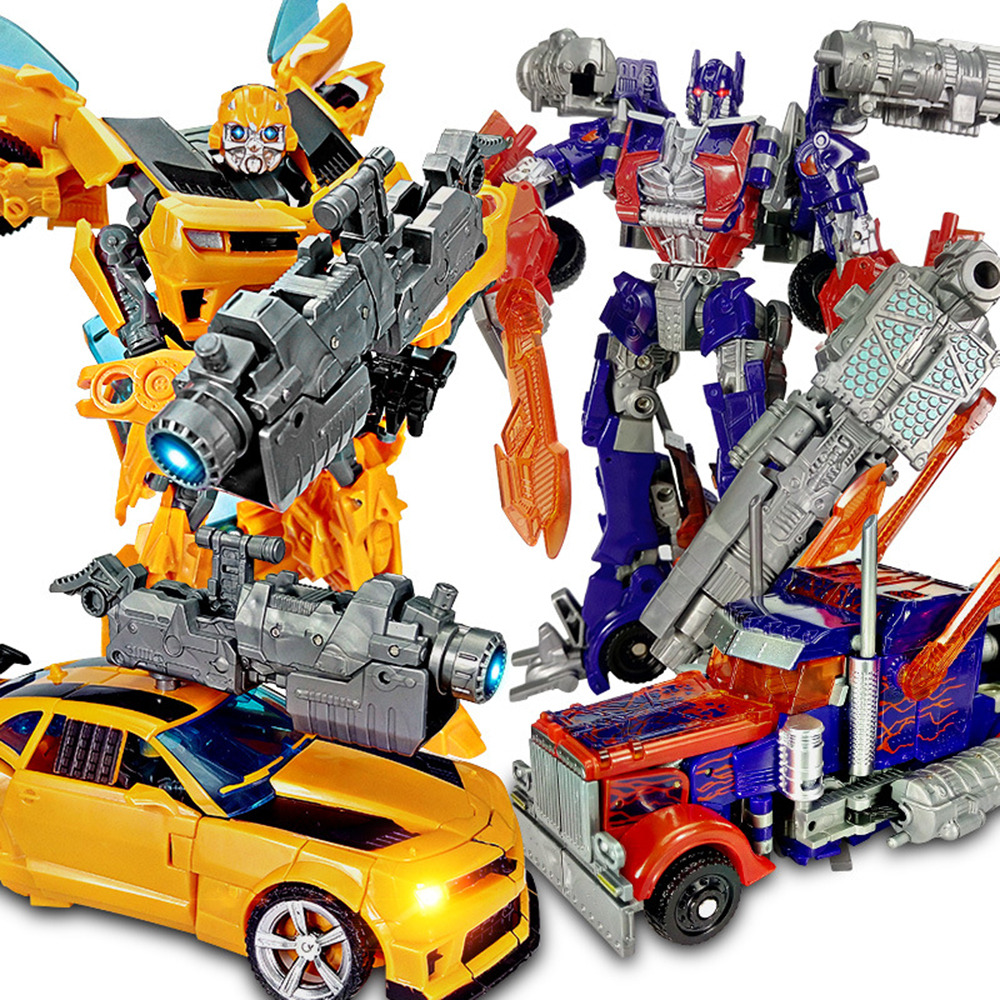 Toys For Boys 5 7 Transformers : Set of transformers bumblebee optimus prime vehicles