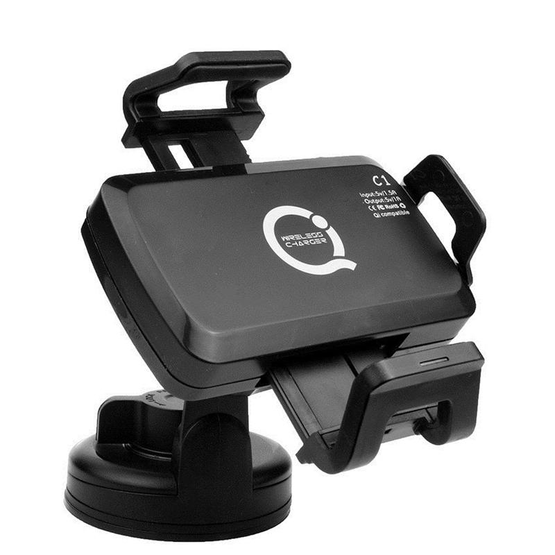 Qi Wireless Car Charger Pad Charging Transmitter Samsung