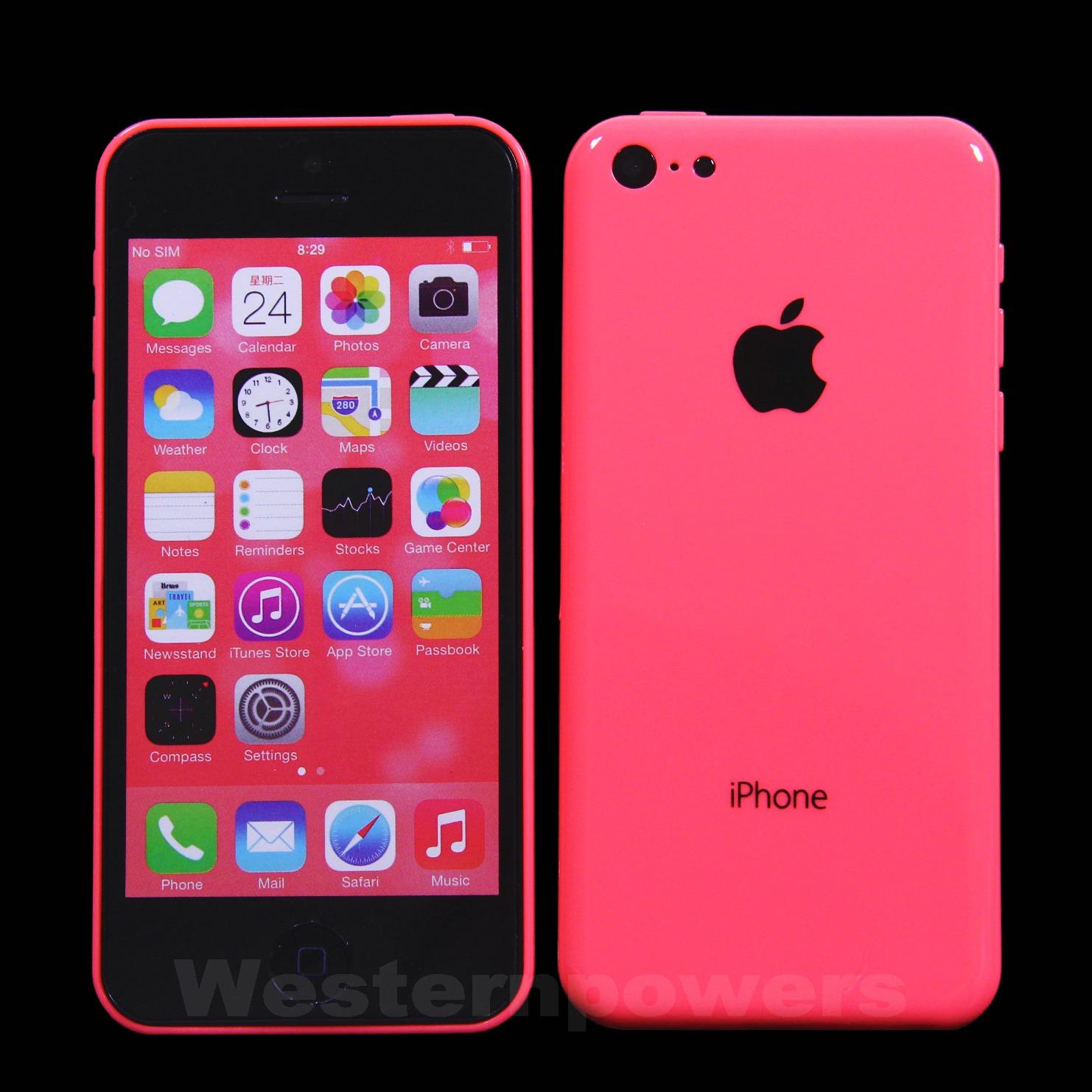 Pink iphone 5c dummy phone display phone fake toy not work usa seller