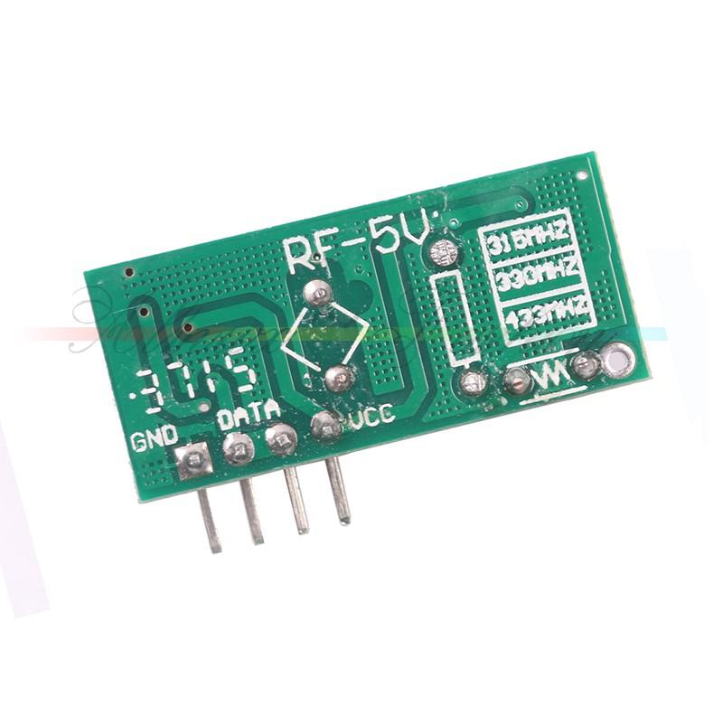 Acm pcs mhz rf émetteur et récepteur kit pour arduino