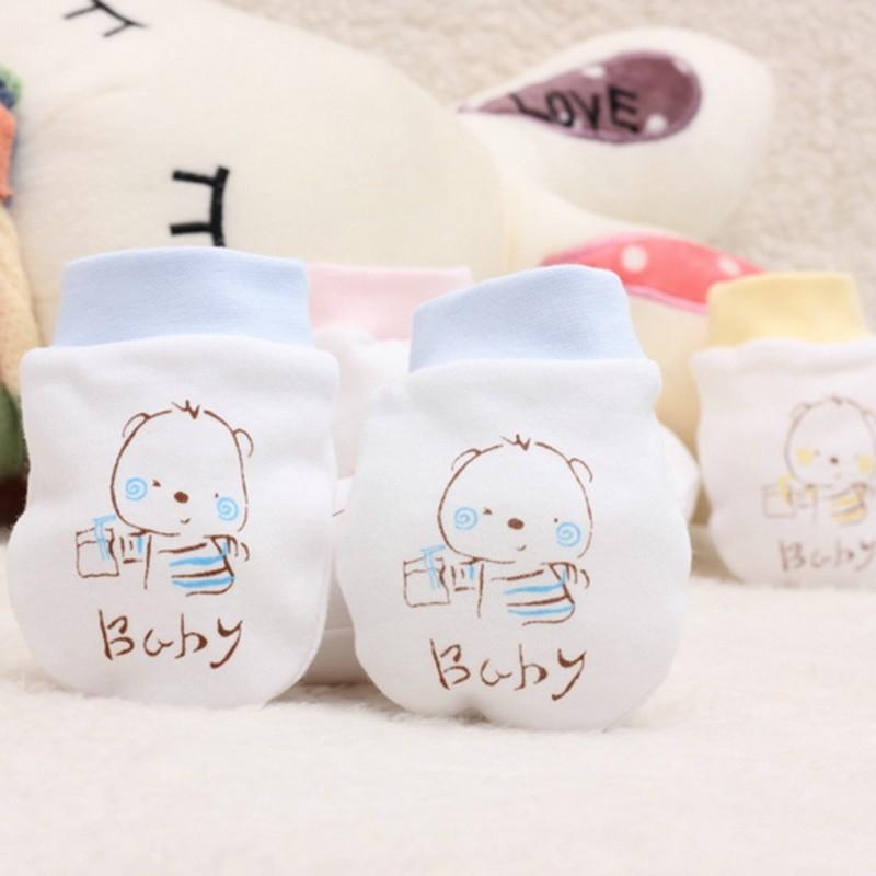 Neonati bambino immagine fumetto cartone animato guanti