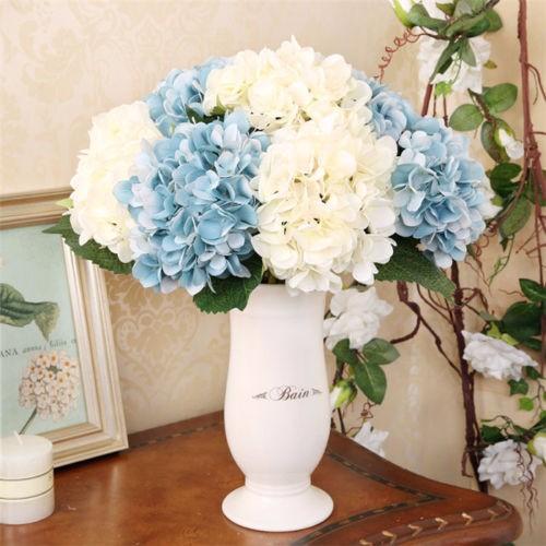 Pcs bouquet swags artificial hydrangea centerpieces
