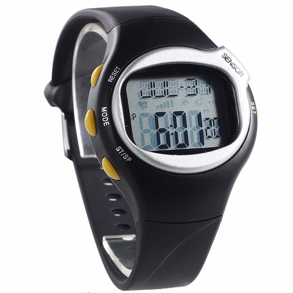 fitness moniteur calories montre de sport pulse rythme cardiaque ebay. Black Bedroom Furniture Sets. Home Design Ideas