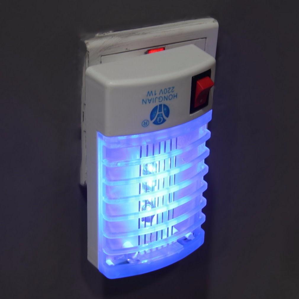 led elektrik m cken vernichter lampe falle licht n tzliche buchse nacht insekten ebay. Black Bedroom Furniture Sets. Home Design Ideas