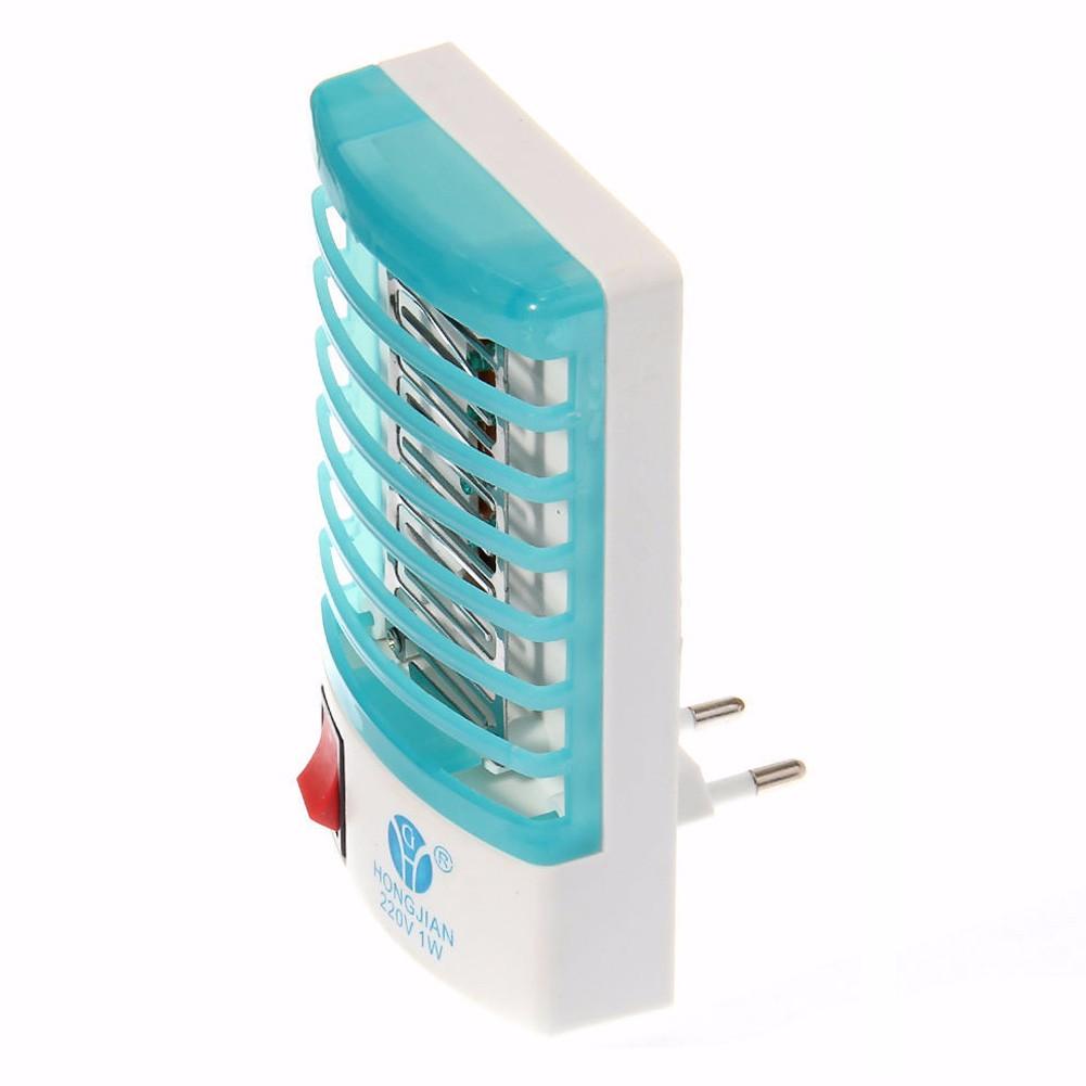 led elektrik m cken vernichter lampe 220v licht falle buchse oberer stecker ebay. Black Bedroom Furniture Sets. Home Design Ideas