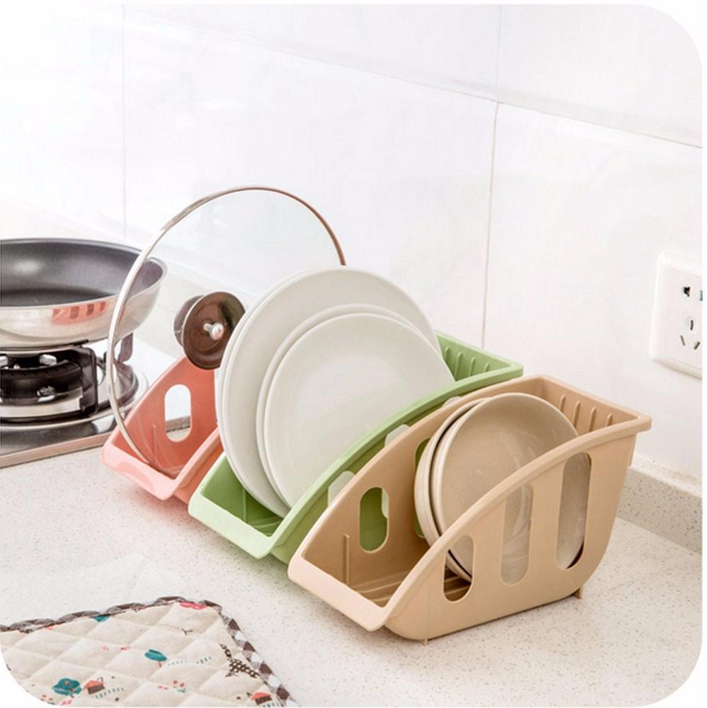Dispositivo cocina organizador del almacenaje cesto plato for Soporte platos cocina