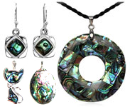 Abalone shell jewelry