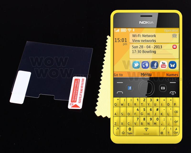 Anti Glare Matte LCD Screen Protector Film Cover for Nokia Asha 210
