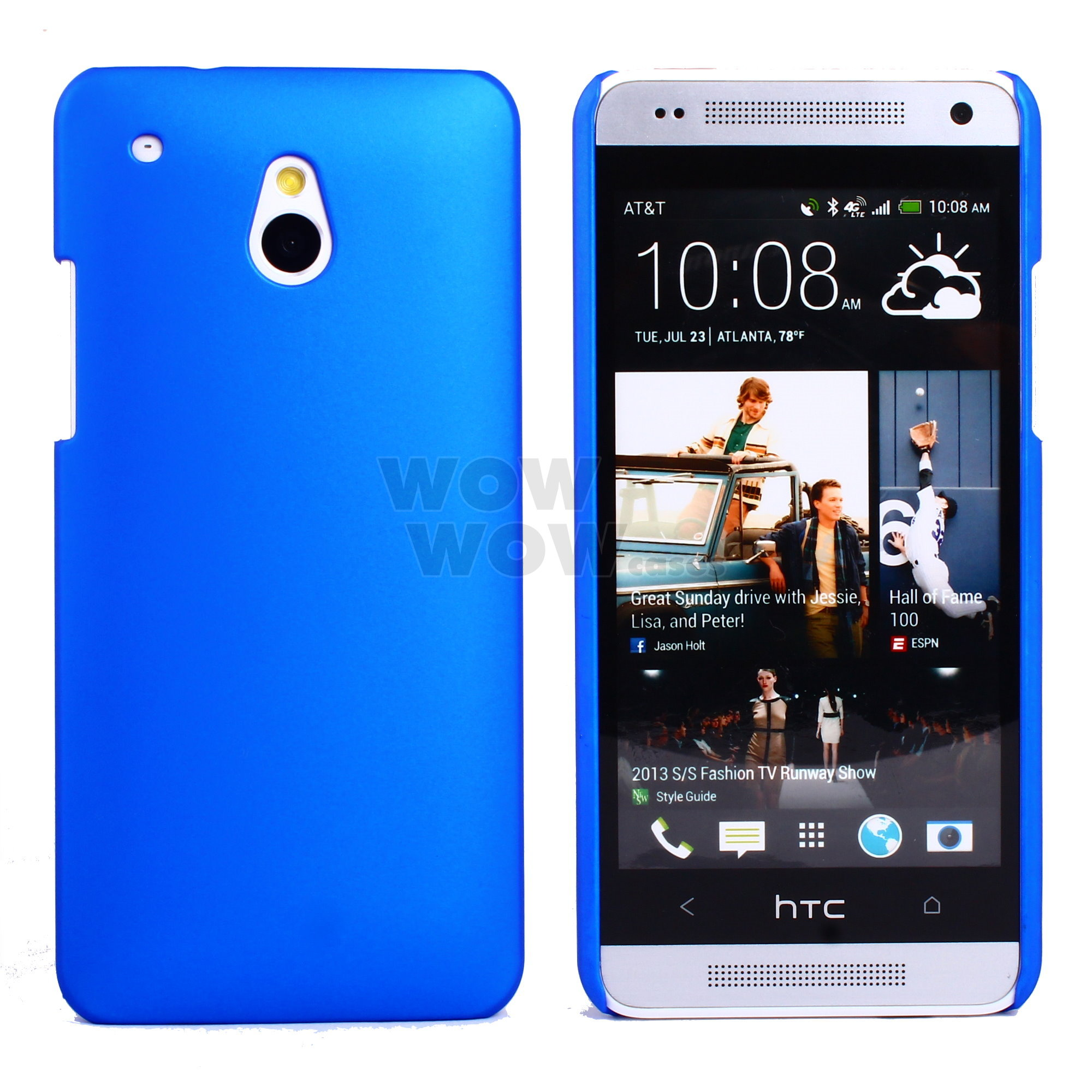 Htc One Mini Colors 1 Pcs Matte Hard Back ...