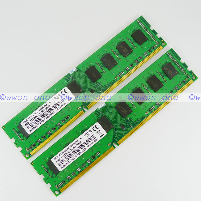New-8GB-2x4GB-PC3-10600-DDR3-1333Mhz-240pin-Desktop-DIMM-Memory-For-AMD-Chipset