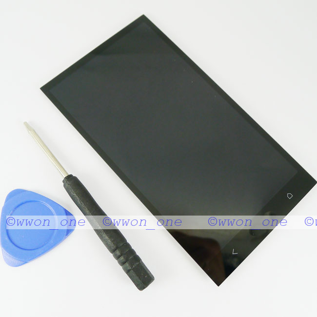 New-Black-Touch-Screen-Digitizer-Lcd-Display-Assembly-For-HTC-One-M7