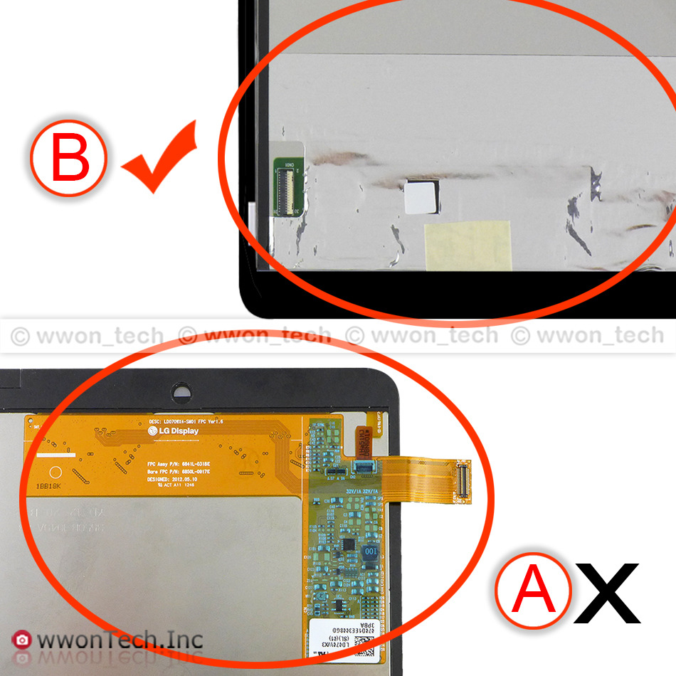 For asus memo pad hd7 me173 me173x k00b lcd for lg edition touch - New Asus Memo Pad Hd 7 Me173 Me173x Lcd Display Touch Screen Digitizer Assembly