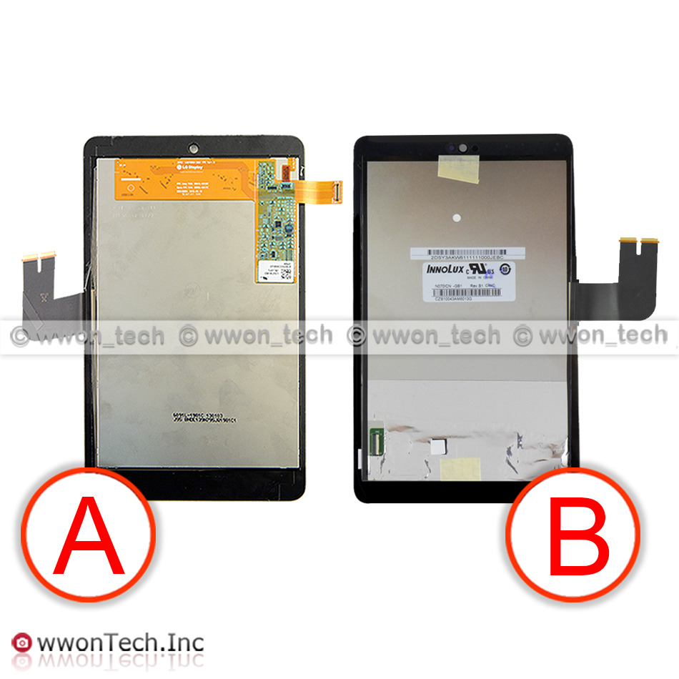 For asus memo pad hd7 me173 me173x k00b lcd for lg edition touch - This Item Is For Innolux Version New Lcd Display Touch Screen Pre Assembled For Asus Memo Pad Hd 7 Me173 Me173x