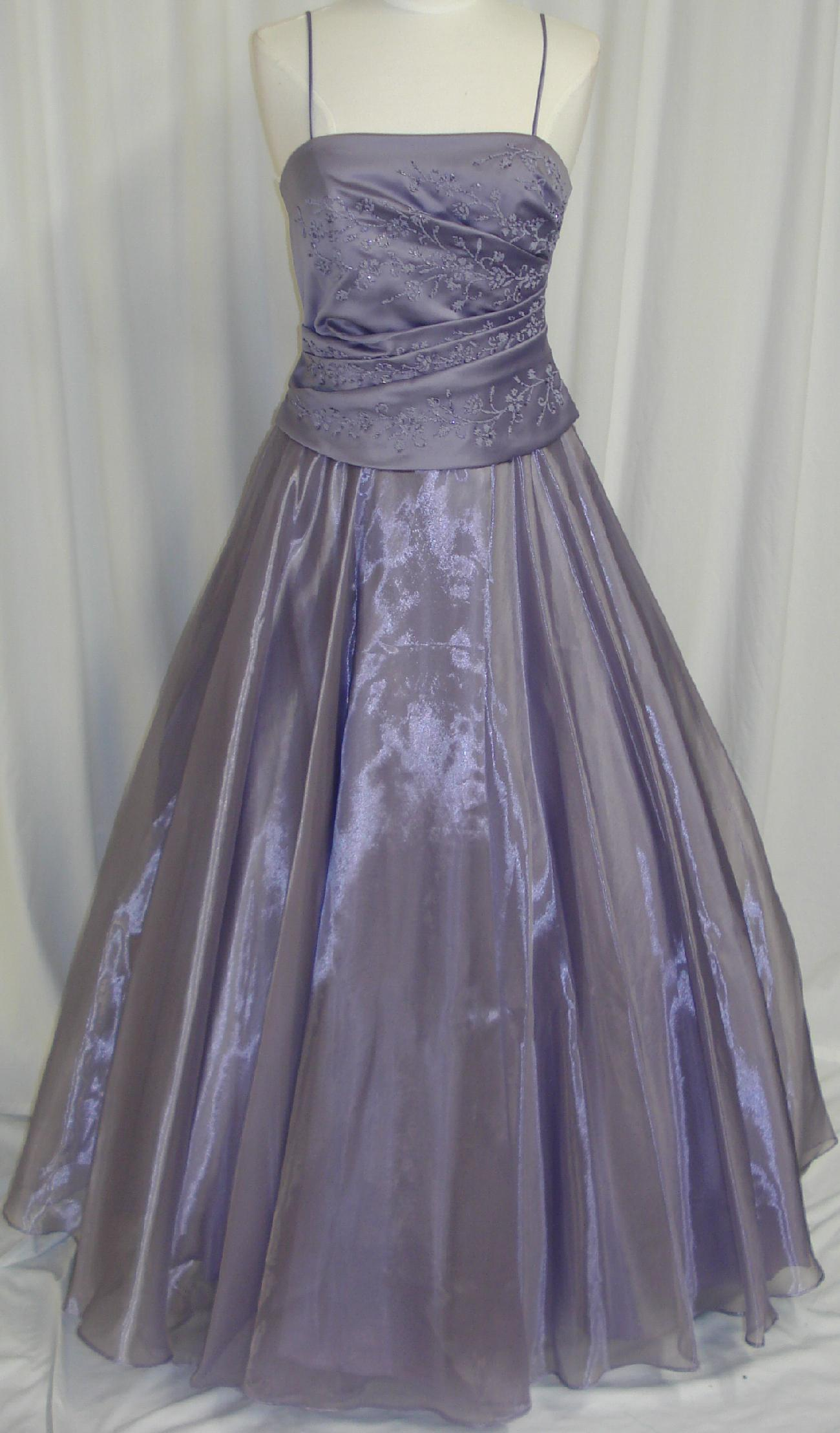 Formal Long Ball Gown Dress Party Gala Prom Pageant Plum