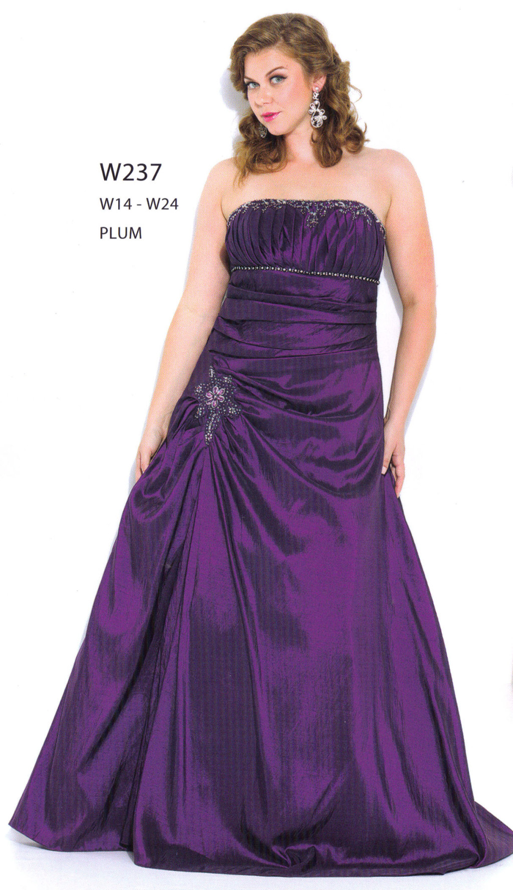 PLUM COLOR BRIDESMAIDS HOME ING LONG PROM FORMAL DRESS