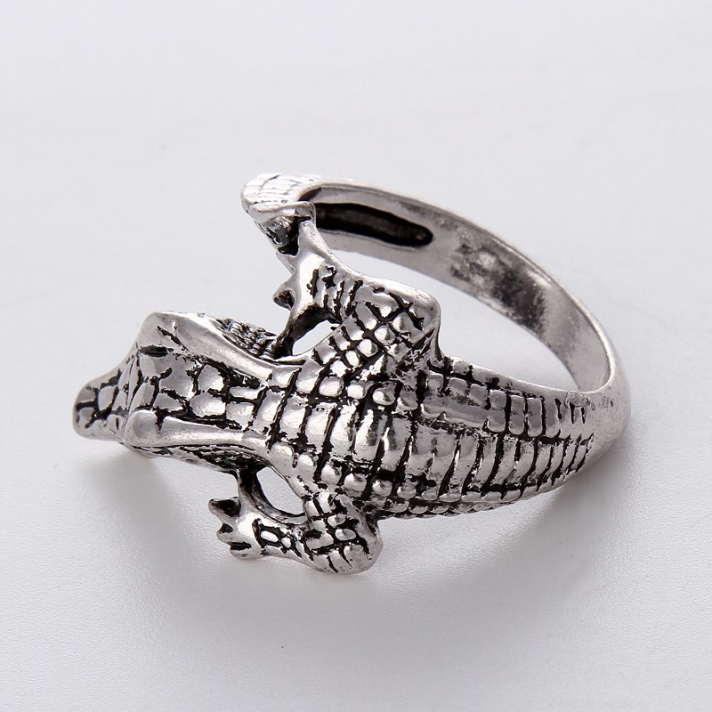 fashion charms jewelry stainless steel mens womens lizard