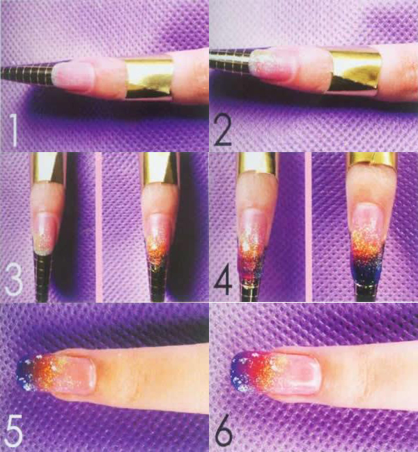 how to use reusable nail forms