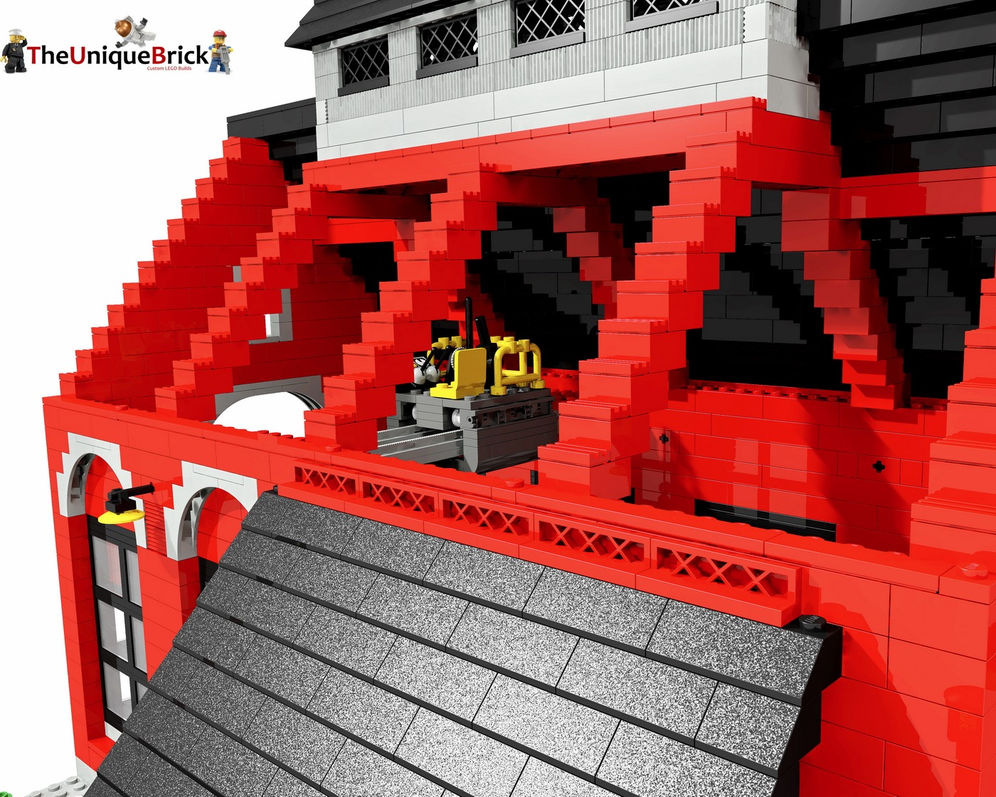 lego train instructions custom