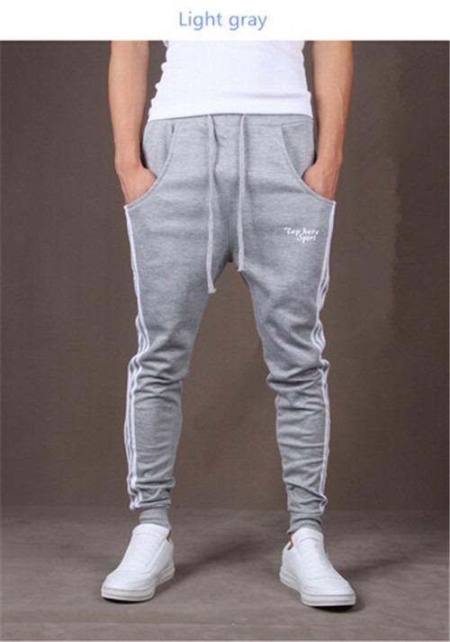 HOT Mens Womens Casual Harem Dance Jogger skinny Sport Sweat Pants Trousers W1