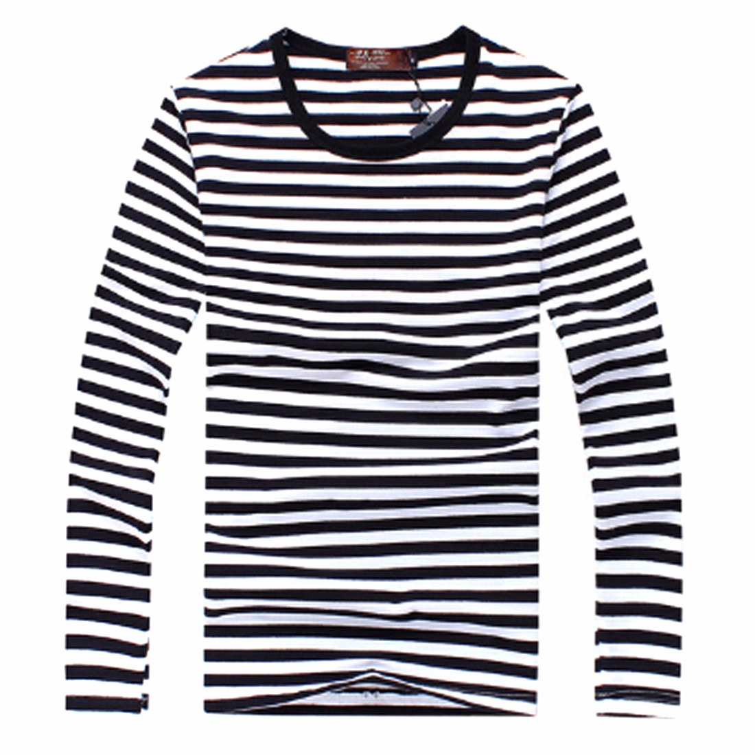 Black and white striped t shirt xxl - Long Striped Top Re Re