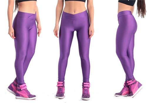 Spandex Stretch Sports High waist Skinny Tights Leggings Pencil Pants Plus Size