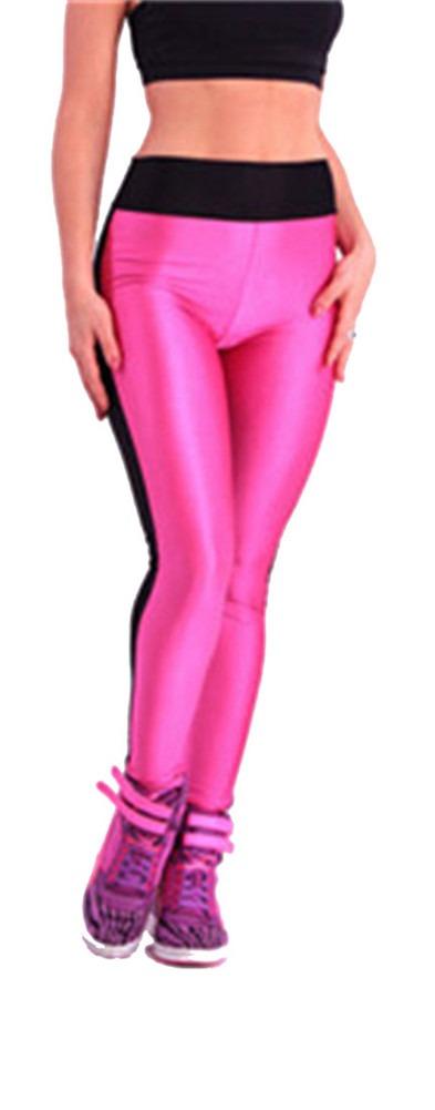 Womens High Waist Stretch Skinny Shiny Leggings Pants Slim  new hot vogue