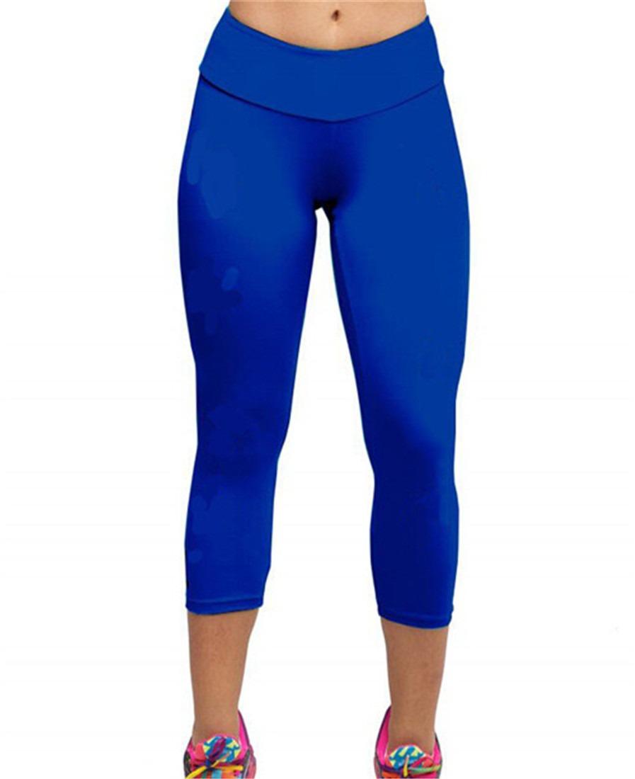 yoga Stretch Short Leggings women new Skinny Spandex pants S-XL HOT SELL NEW