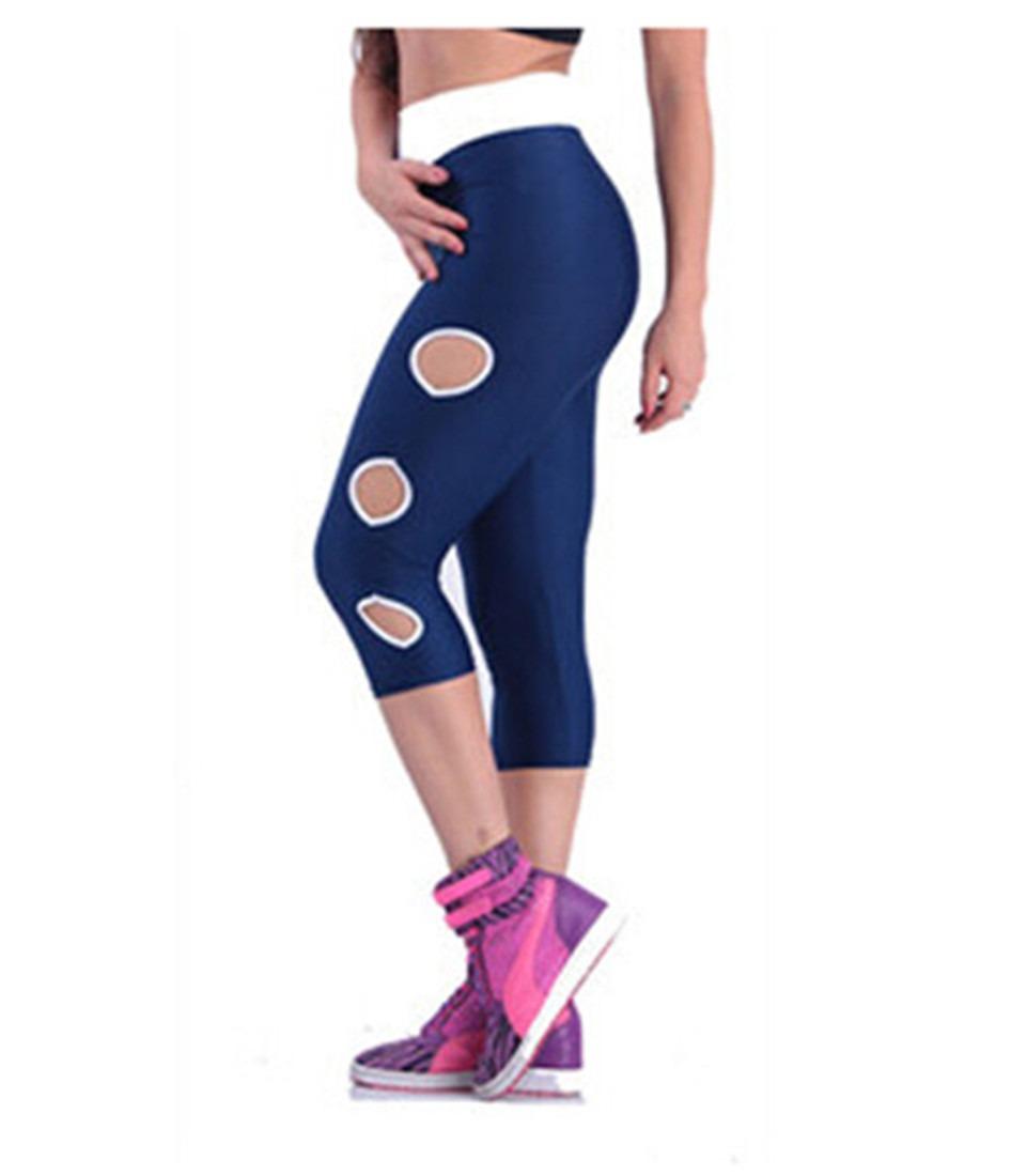 Atheletic Sports Yoga Soft Stretch Under knee Short Pants Leggings S-XL