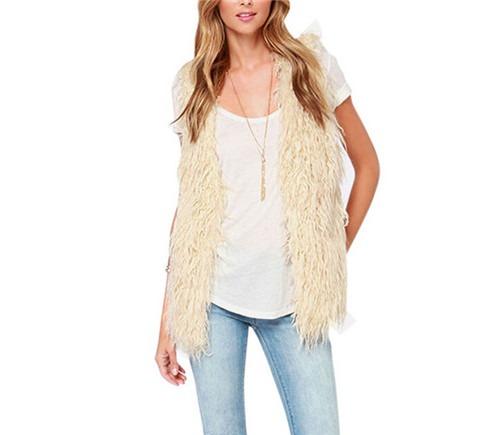 fashion new Warm Sleeveless coat Women thicken Vest Waistcoat gilet Jacket