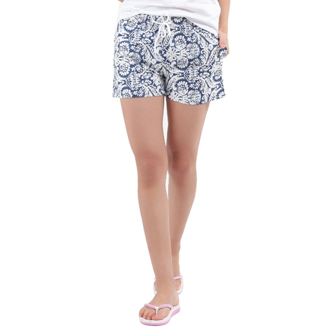 Casual Womens Printed Swim Beach Shorts Boardshorts Trunks Short Pants L/XL/XXL
