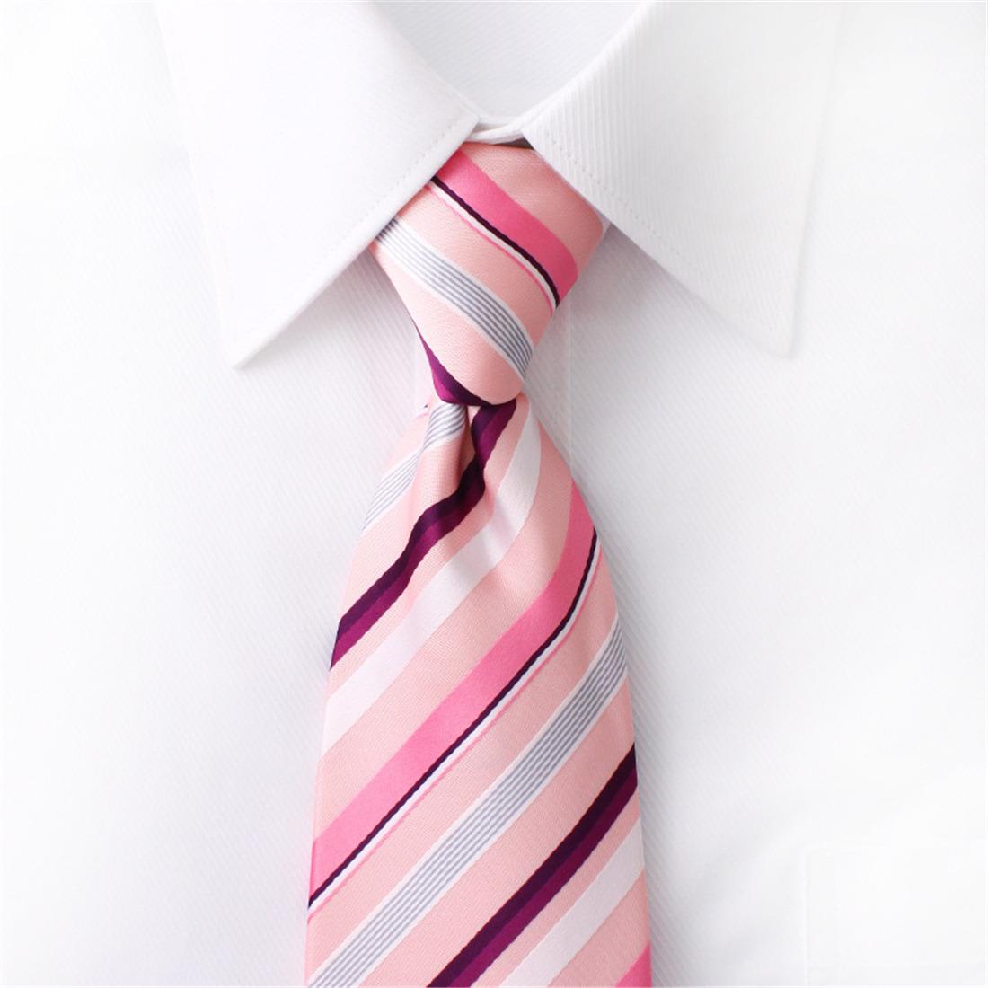 Corbata Para Hombre De Navidad casual de negocios Boda Corbata Rayas ...