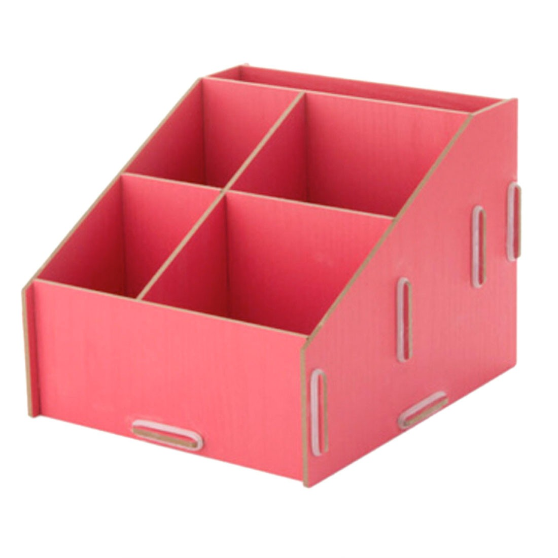 Diy wooden cosmetic small goods container desk bathroom - Small bathroom storage boxes ...
