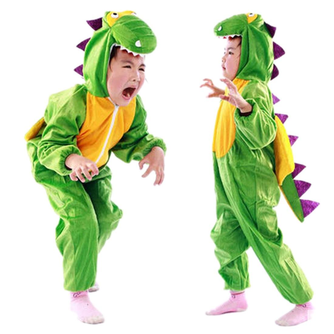 Новогодний костюм динозавра своими руками фото
