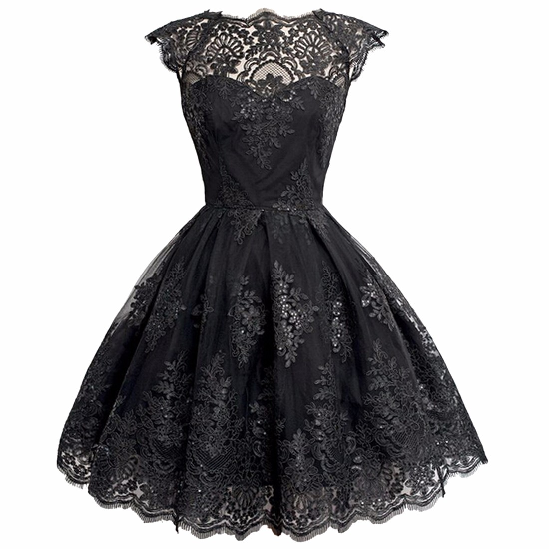 fashion tutu dress short bridesmaid lace evening dress cocktail prom party ebay. Black Bedroom Furniture Sets. Home Design Ideas