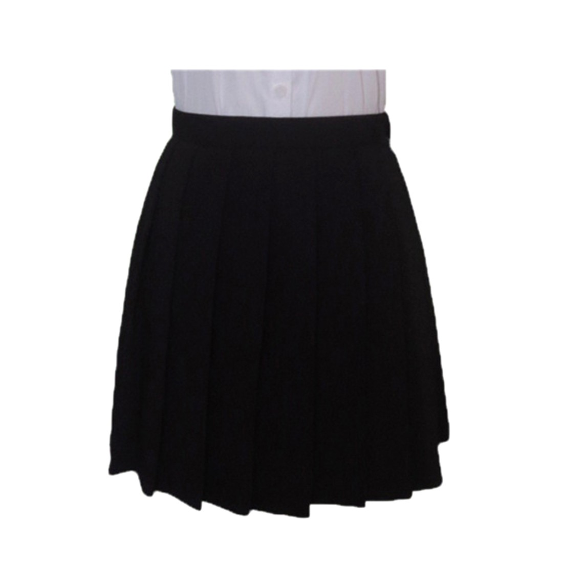 Japanese Student High Waist Macarons COS JK Unifrom Pleated Short Skirt Dress