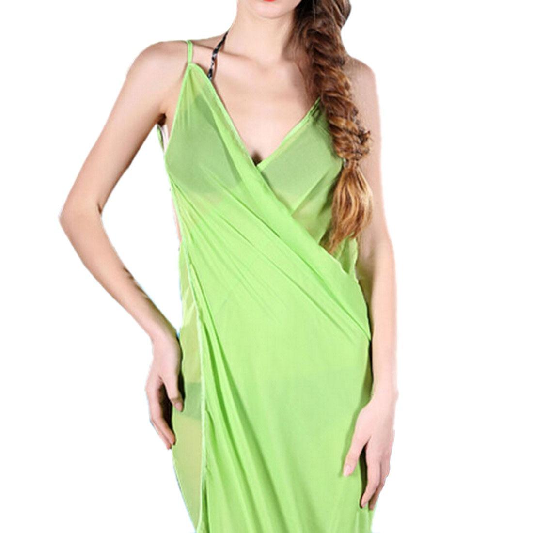 Beach Towel Womens: Sexy Solid Color Women Summer Bath Towel Beach Dress