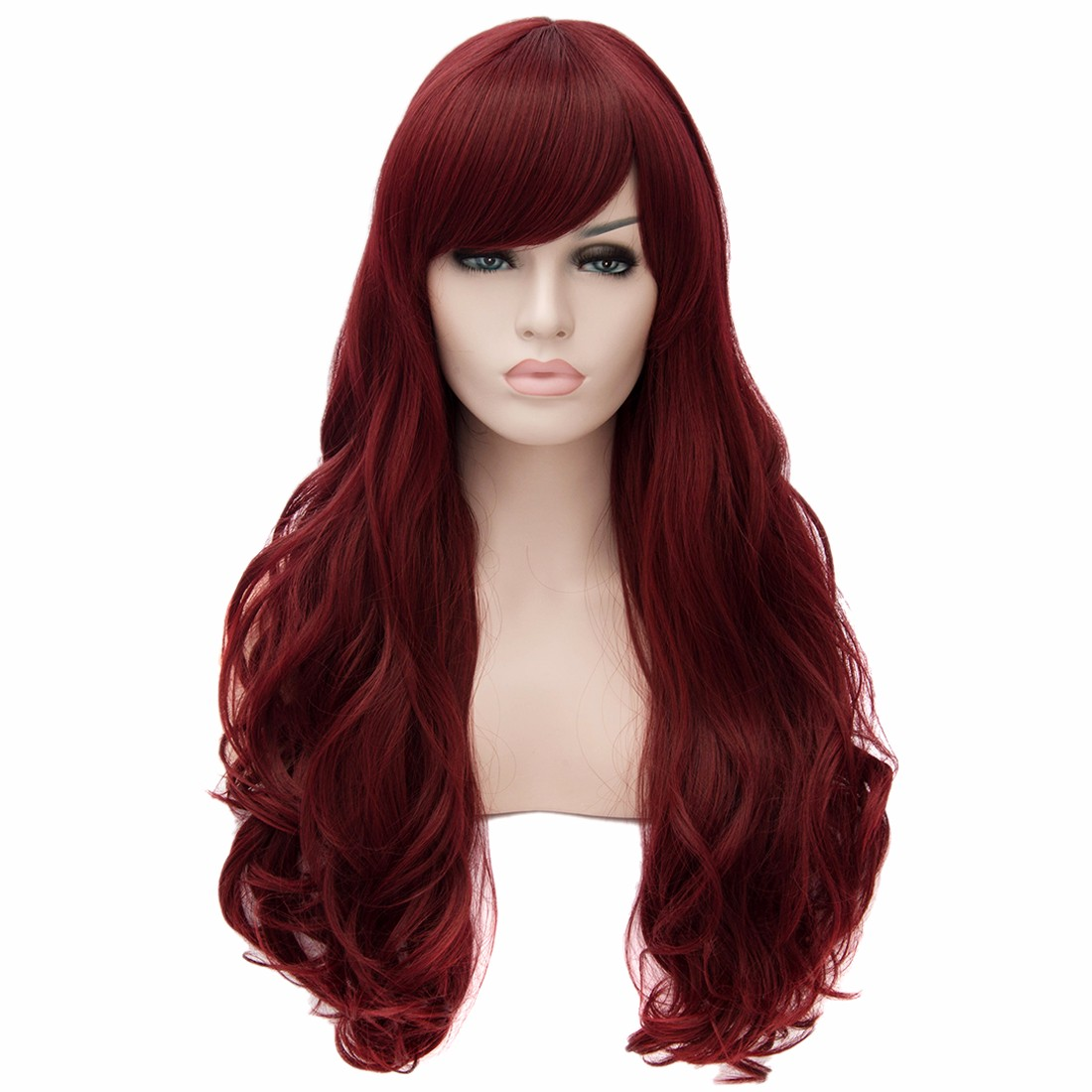 New Womens Long Curly Wavy Full Wigs Party Hair Cosplay Sexy Fashion Costume Wig