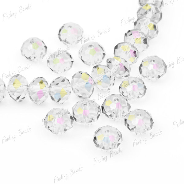 Faceted-Swarovski-Crystal-Bead-Drops-Pendant-Teardrop-Bicone-Rondelle-Round-Rice