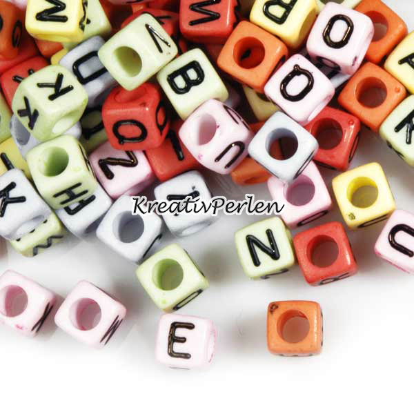 ca-75-mix-ACRYL-Wurfel-Buchstaben-Perlen-Beads-AR0372