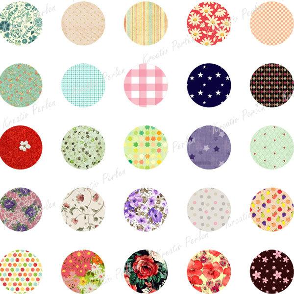 digital collage sheet f r anh nger fassung bunte blumen natur fotocollage kpcs22 ebay. Black Bedroom Furniture Sets. Home Design Ideas
