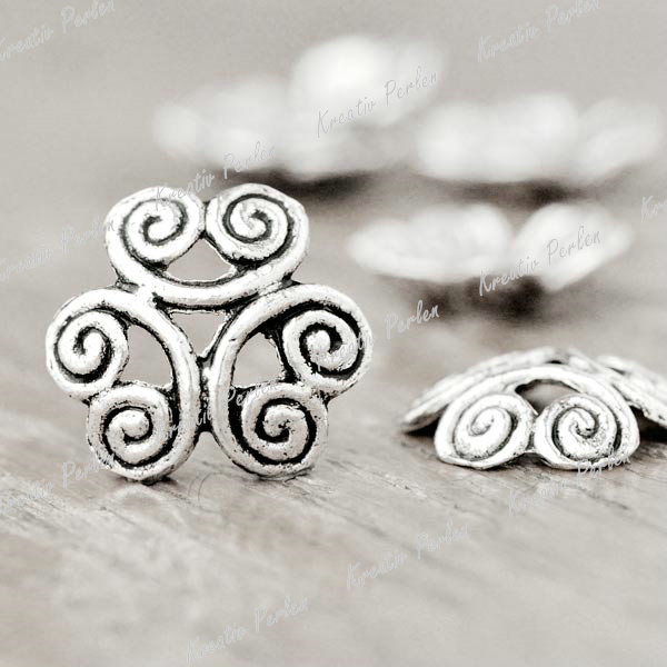 KPTS1874-Perlenkappen-Silber-Grosshandel-Tibet-Rabatt-Antik-Spacer-Blumen-Beads
