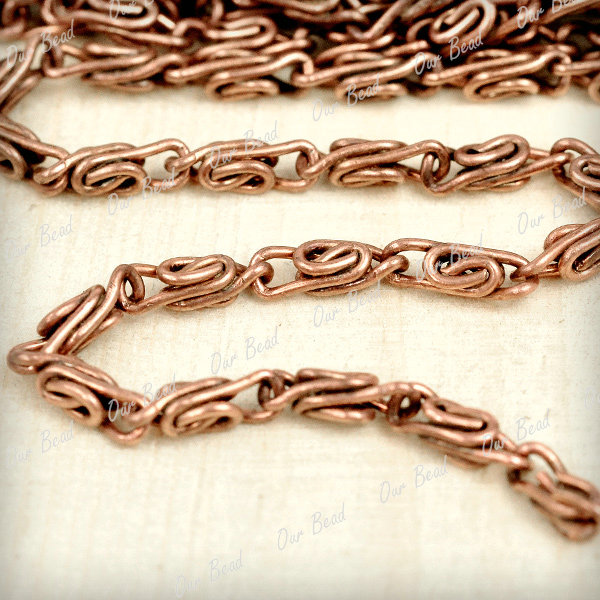 2m Curb Chains Unfinished Metal Chains Strong Silver Black Open Links Neckkace